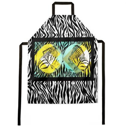 Cape Mountain Zebra Ladies Apron