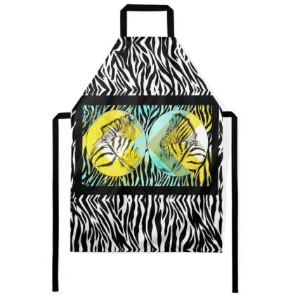 Cape Mountain Zebra Men's Apron