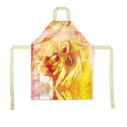 King of the Jungle Children's Apron