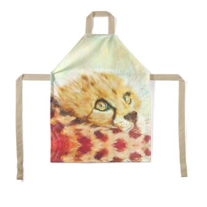 Cheetah Cub Children's Apron