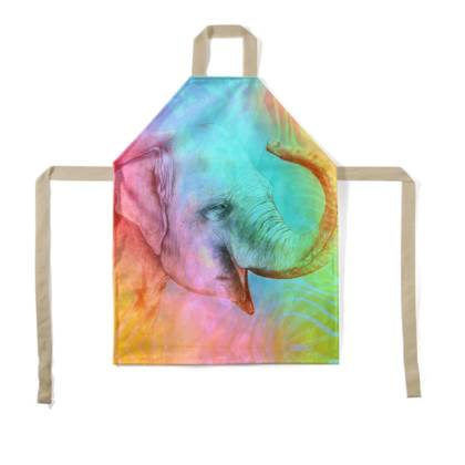 Baby Elephant Children's Apron