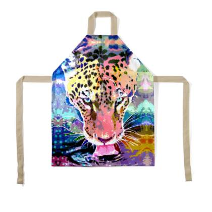 Jaguar Children's Apron