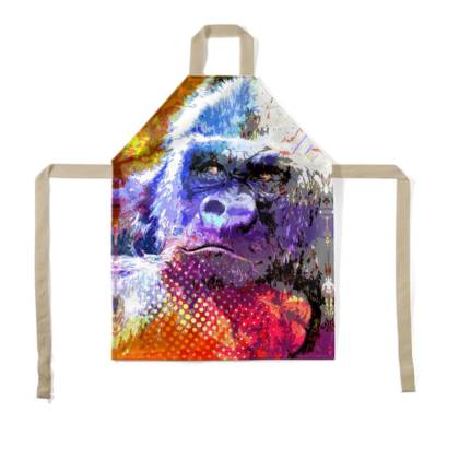 Mountain Gorilla Children's Apron