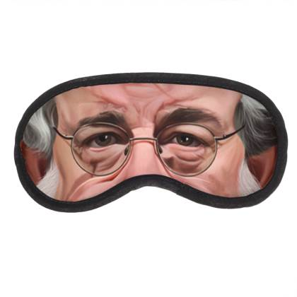 George Lucas Celebrity Caricature Eye Mask
