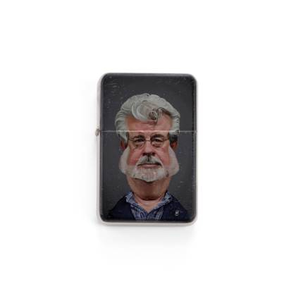 George Lucas Celebrity Caricature Lighter