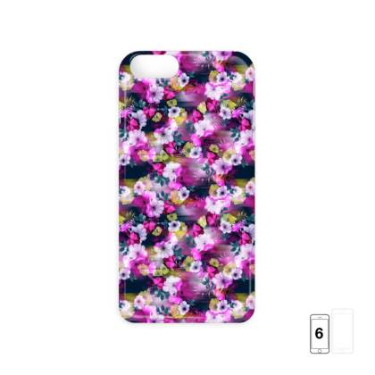 Pixelated Floral iPhone 6 Case