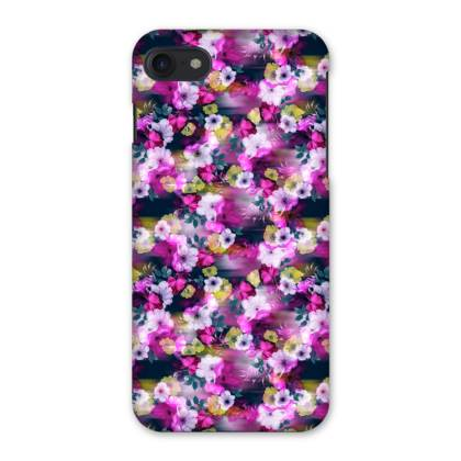 Pixelated Floral iPhone 7 Case