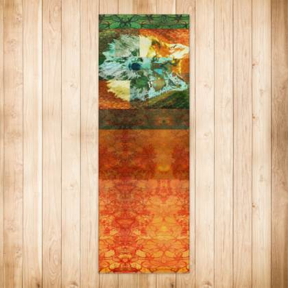 Mexican Grey Wolf Runner Rug