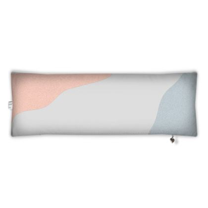Bolster Cushion - Pastel Organic Stone