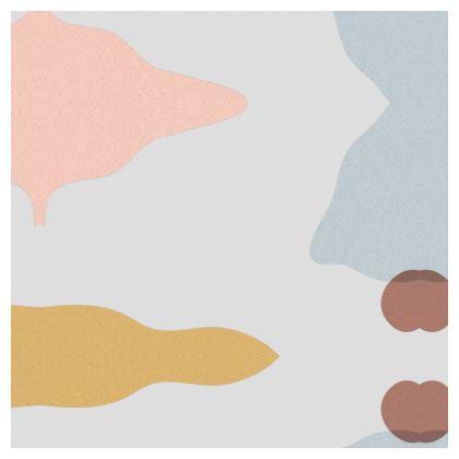 Luxury Cushion - Organic Pastel Stone