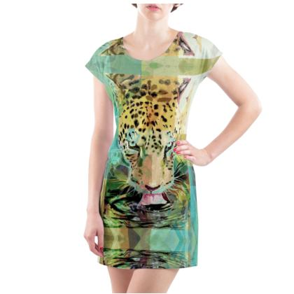 Jaguar T-Shirt Dress - Available from UK Size 2 to 32
