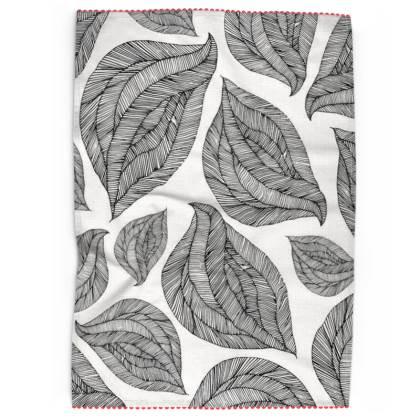 Geometric Tea Towel (no 1)