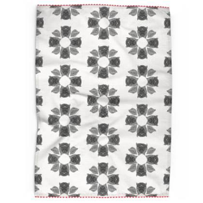 Geometric Tea Towel (no 3)