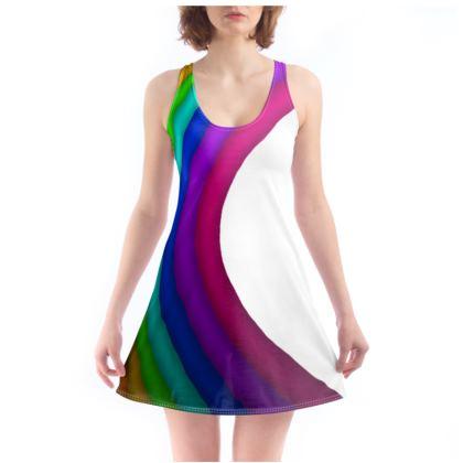Beach Dress - Rainbow