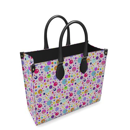 Atomic Collection Leather Shopper Bag