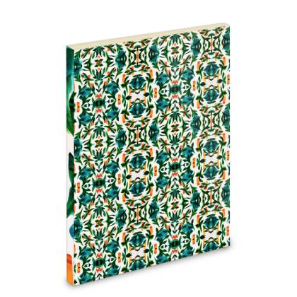 Mirrored Digital Tropical Pocket Note Book