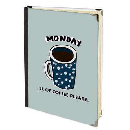 Monday, 5L of coffee please 2022 Deluxe Diary