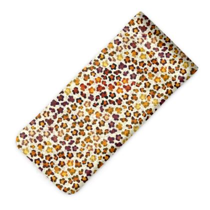 Leopard Skin Collection Glasses Case Pouch