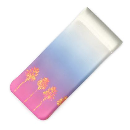 Palm Trees Collection Glasses Case Pouch