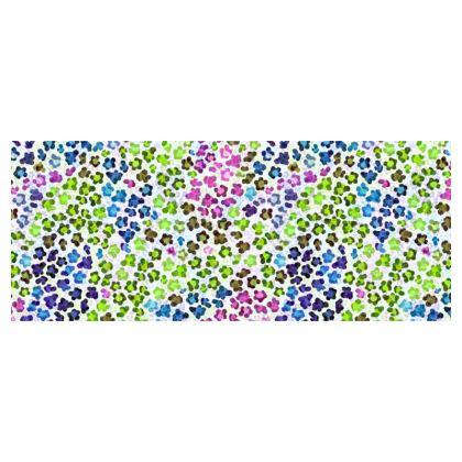 Leopard Skin Multicoloured Collection Hard Glasses Case