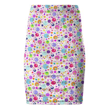 Atomic Collection Pencil Skirt