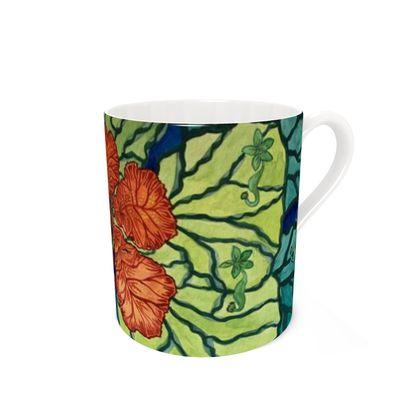 Flamboyant- floral mug