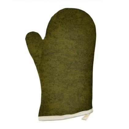 Light Green Textured Oven Glove