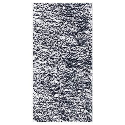 Black and White Textured Curtains