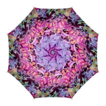 Umbrella Watercolor Texture 7