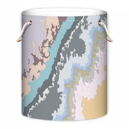 Geode Pastel Laundry Bag
