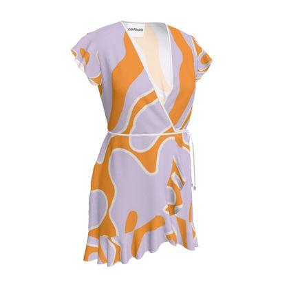 Tea Dress - Summer Caramel