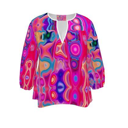 Womens Blouse Fashion Circle 1
