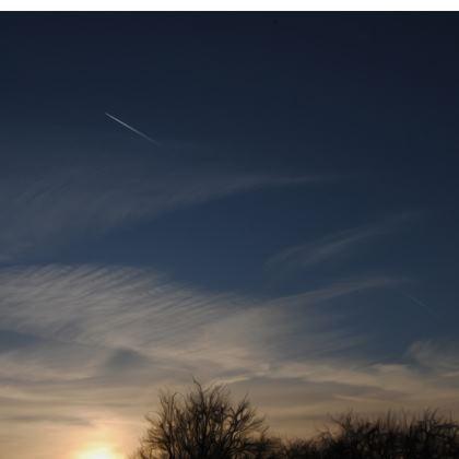 Ladies Bomber Jacket - Low Sunset