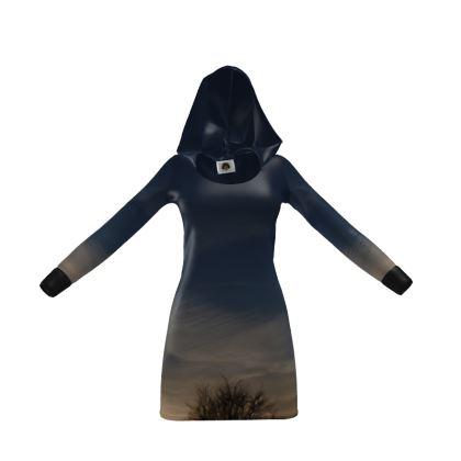 Hoody Dress - Low Sunset