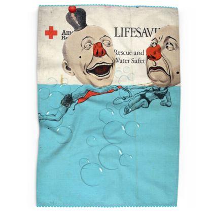 Red Cross Tea Towel