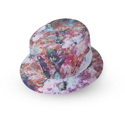 Bucket Hat Watercolor Texture 13