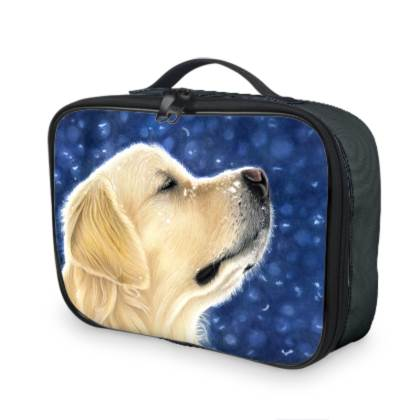 Golden Retriever Lunch Bag - Magic Moment