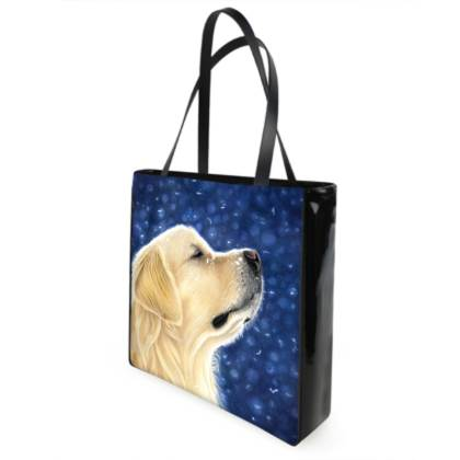 Golden Retriever Shopping Bag - Magic Moment