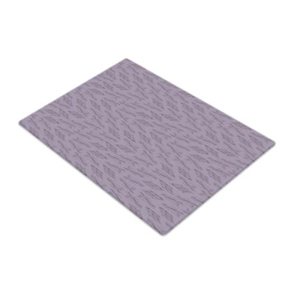 Lilac Stripe Glass Chopping Board