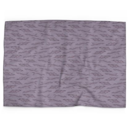 Lilac Stripe Tea Towel