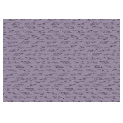 Lilac Stripe Fabric Placemat