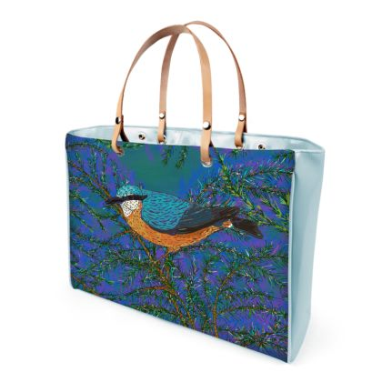Nuthatch and Fir Handbag