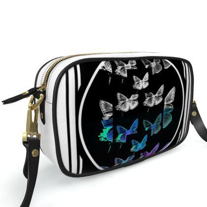 borsa a tracolla collezione farfalle