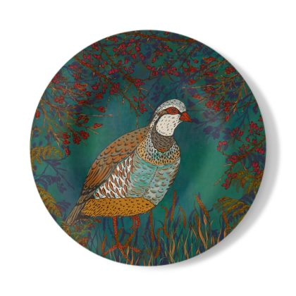 Partridge in the Hedgerow Decorative Plate