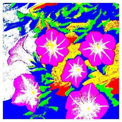 Trailing Petunias Cushion