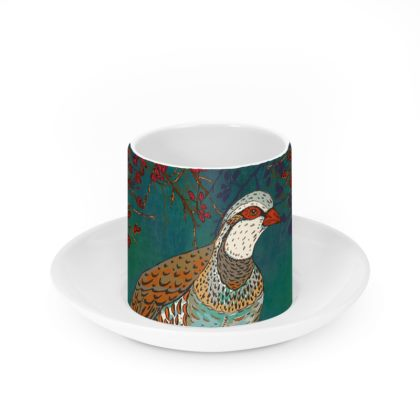 Partridge Cup & Saucer Set