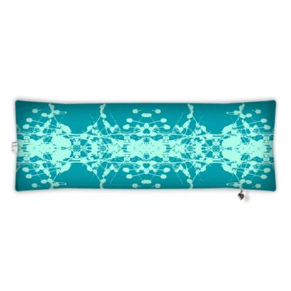 Teal Bolster Cushion