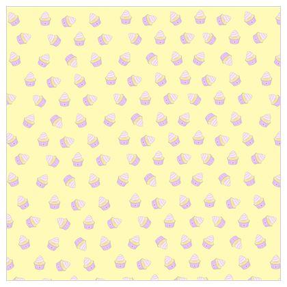 'Hello Cupcake' Fabric Printing