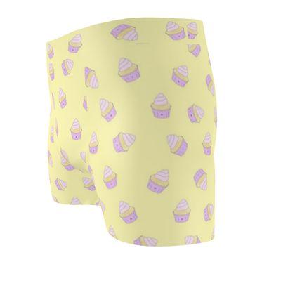 'Hello Cupcake' Cut & Sew Boxer Briefs