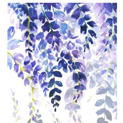 Indigo Meadow Cushion